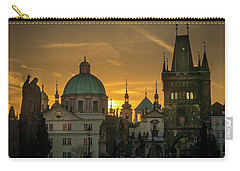 Sunrise From Charles Bridge Carry-all Pouch