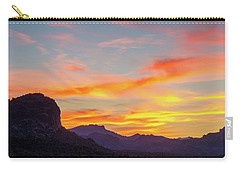 Sunrise From Hieroglyphic Trail Carry-all Pouch
