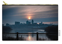 Sunrise From Kaw Point Carry-all Pouch