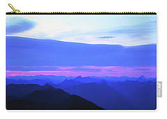 Sunrise From Pilchuck Summit Carry-all Pouch