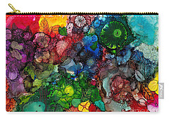 Sunrise Garden Explosion Carry-all Pouch