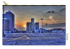 Sunrise In Detroit Mi Carry-all Pouch