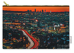 Sunrise In Hollywood Carry-all Pouch by Art K