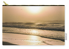 Carry-all Pouch featuring the photograph Sunrise In Orange Beach  by John McGraw