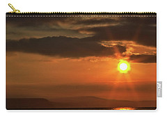 Sunrise In Portland Carry-all Pouch by Stephen Melia