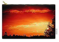 Sunrise In Southport Maine Carry-all Pouch