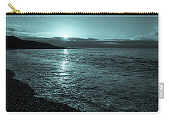 Sunrise In Stonehaven B-w Carry-all Pouch by Sergey Simanovsky