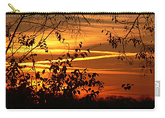 Sunrise In Tennessee Carry-all Pouch by EricaMaxine  Price