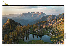 Sunrise In The Wasatch Carry-all Pouch