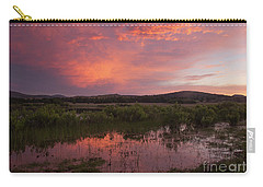 Sunrise In The Wichita Mountains Carry-all Pouch