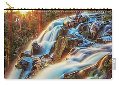 Sunrise Light On Eagle Falls Carry-all Pouch