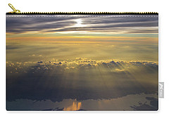 Sunrise From 30,000 Feet Carry-all Pouch