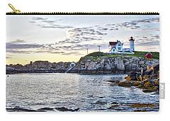 Sunrise Nubble Lighthouse - York - Maine Carry-all Pouch
