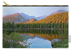 Sunrise On Bear Lake Rocky Mtns Carry-all Pouch by Teri Brown
