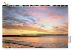 Sunrise On Middletown Rhode Island Carry-all Pouch by Roupen  Baker