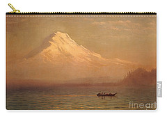 Sunrise On Mount Tacoma  Carry-all Pouch