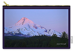 Sunrise On Mt. Hood Carry-all Pouch