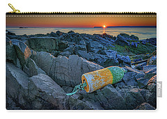 Carry-all Pouch featuring the photograph Sunrise On Passamaquoddy Bay by Rick Berk