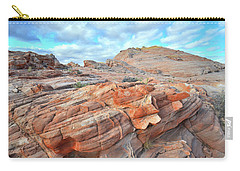 Sunrise On Sandstone In Valley Of Fire Carry-all Pouch
