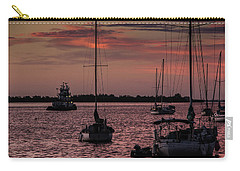 Sunrise On Sarasota Bay, Bradenton Beach Carry-all Pouch