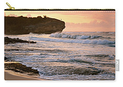 Sunrise On Shipwreck Beach Carry-all Pouch