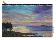 Sunrise On Tancook Island  Carry-all Pouch