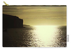 Carry-all Pouch featuring the photograph Sunrise On The Almalfi Coast by Polly Peacock