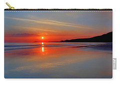 Sunrise On The Coast Carry-all Pouch by Roy McPeak