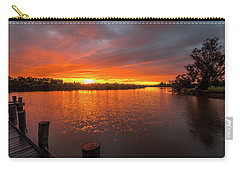 Sunrise On The Collie River Carry-all Pouch