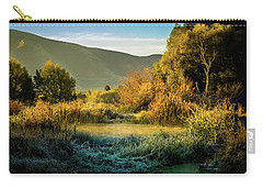 Sunrise On The Duck Marsh Carry-all Pouch
