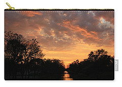 Sunrise On The Illinois Michigan Canal Carry-all Pouch