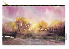 Sunrise On The Lane Carry-all Pouch by Judith Levins