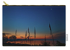 Carry-all Pouch featuring the photograph Sunrise On The Neuse 1 by Cindy Lark Hartman
