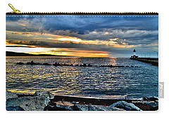 Sunrise On The Rocks Carry-all Pouch