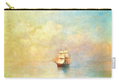 Sunrise On The Sea Carry-all Pouch