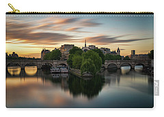 Sunrise On The Seine Carry-all Pouch