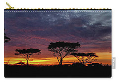 Sunrise On The Serengeti Carry-all Pouch