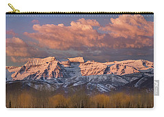 Sunrise On Timpanogos Carry-all Pouch