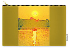 Sunrise On Town Lake Carry-all Pouch