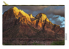 Sunrise On Zion National Park Carry-all Pouch