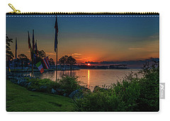 Carry-all Pouch featuring the photograph Sunrise On The Neuse 3 by Cindy Lark Hartman