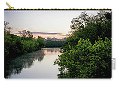 Sunrise Over Austin Texas Carry-all Pouch by Art Block Collections