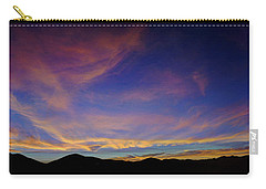 Sunrise Over Canyon Hills Carry-all Pouch