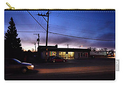 Carry-all Pouch featuring the photograph Sunrise Over Charlie's by Jeanette O'Toole