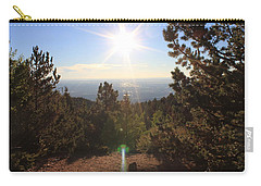 Sunrise Over Colorado Springs Carry-all Pouch