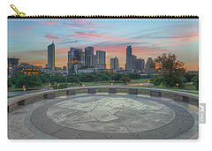 Sunrise Over Downtown Austin, Texas 3 Carry-all Pouch by Rob Greebon