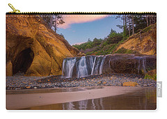 Carry-all Pouch featuring the photograph Sunrise Over Hug Point by Darren White
