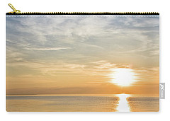 Sunrise Over Lake Michigan In Chicago Carry-all Pouch