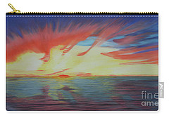 Sunrise Over Matagorda Bay Carry-all Pouch