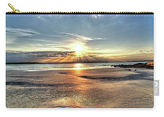 Sunrise Over Red Rock Park Lynn Ma Kings Beach Carry-all Pouch